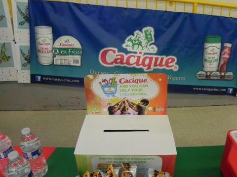 La marca de productos Cacique se asoció este año acad&eacu...