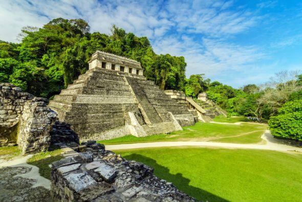 PALENQUE Y BONAMPAK Dos de las ciudades mayas más famosas d...