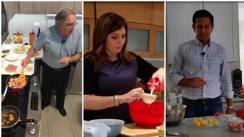 Luis Dávila Colón, Ada Monzón y Armando Valdes demu...