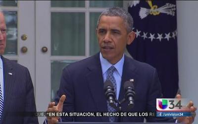 Obama busca soluciones al tema migratorio