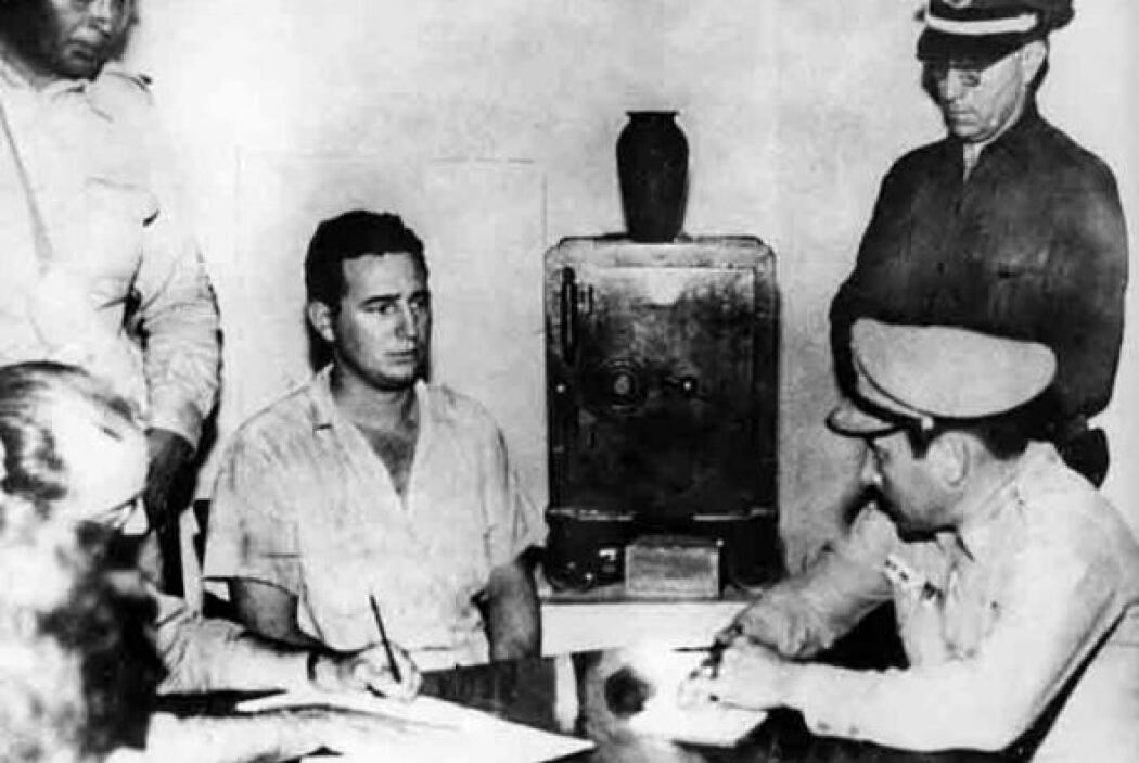 Luego del fallido ataque Castro fue procesado, y pronunció la famosa fra...