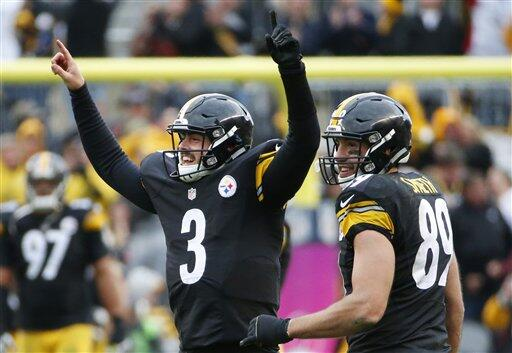 Defensiva y tercer quarterback lograron la victoria para los Steelers an...