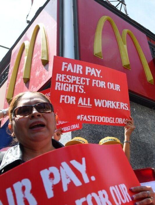Los trabajadores anunciaron que, el 15 de mayo, harán una huelga que se...