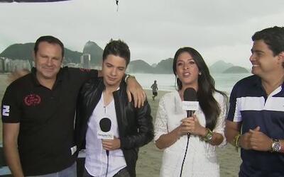William, Alan, Maity y Orlando no quieren volver de Brasil