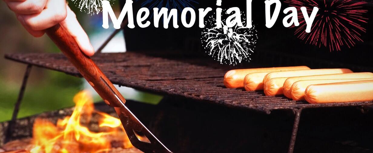 Barbecue en celebración de Memorial Day.