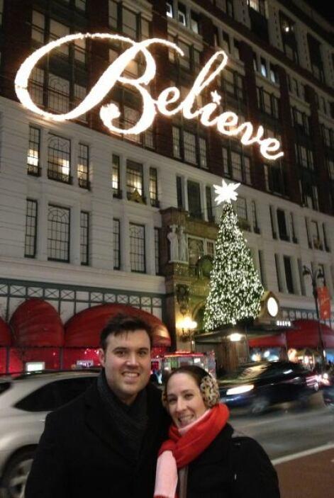 Alberto Sardiñas aprovecho muy bien sus vacaciones junto a su esposa par...
