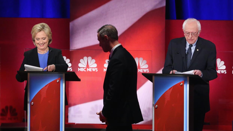 Debate demócrata en Carolina del Sur
