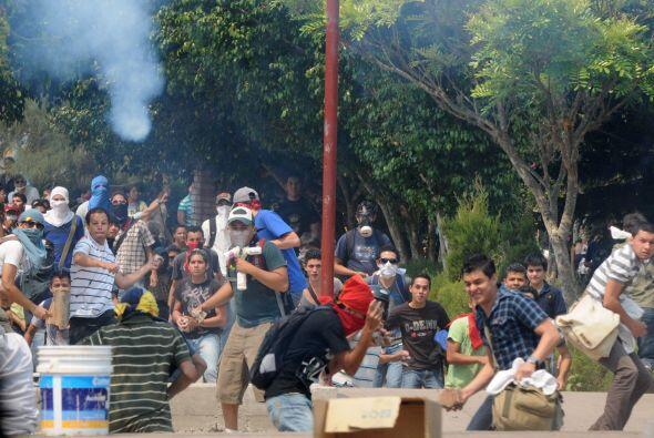 El Frente Nacional de Resistencia Popular exigió una serie de demandas a...