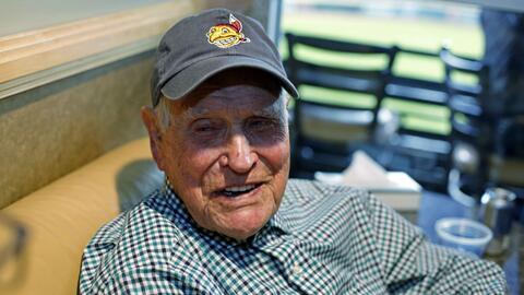 Robinson decidió el Juego 6 de la Serie Mundial de 1948.