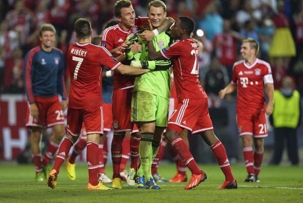 Neuer, héroe del partido con su parada final.