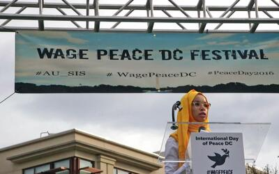 Voices for global peace and tolerance speak out in troubled times