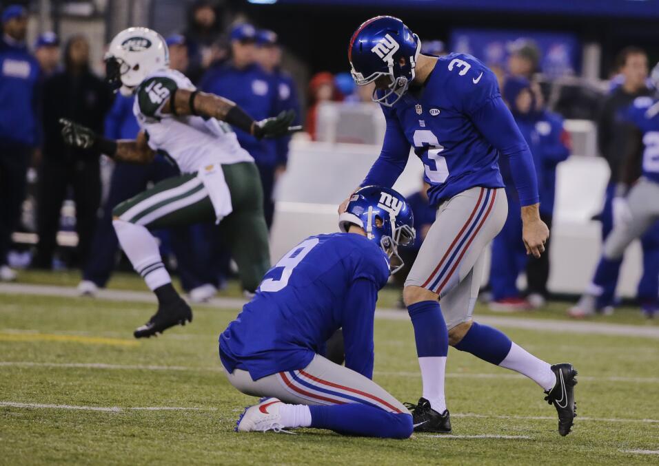 Los New York Jets vencieron 23 - 20 a los New York Giants en dramático p...