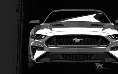 Muere instructor de manejo en Disney 2018-Mustang-design-sketch-03.jpg