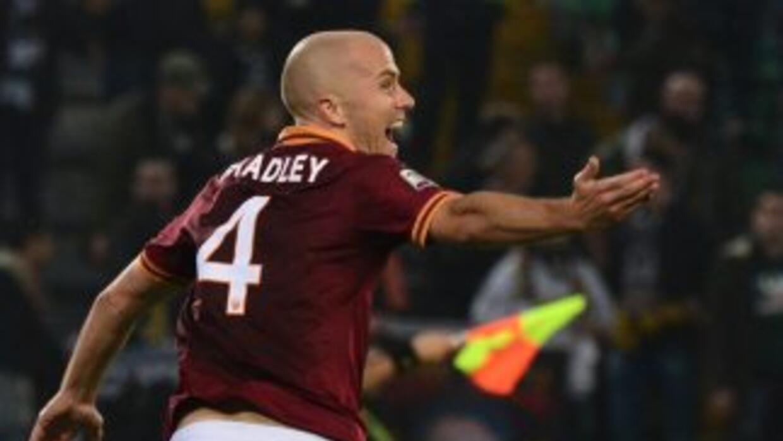 El estadounidense Michael Bradley hizo el gol del triunfo romano al minu...