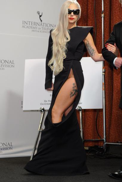 Vivíamos con el pendiente de que a Lady Gaga no se le fuera a ver...