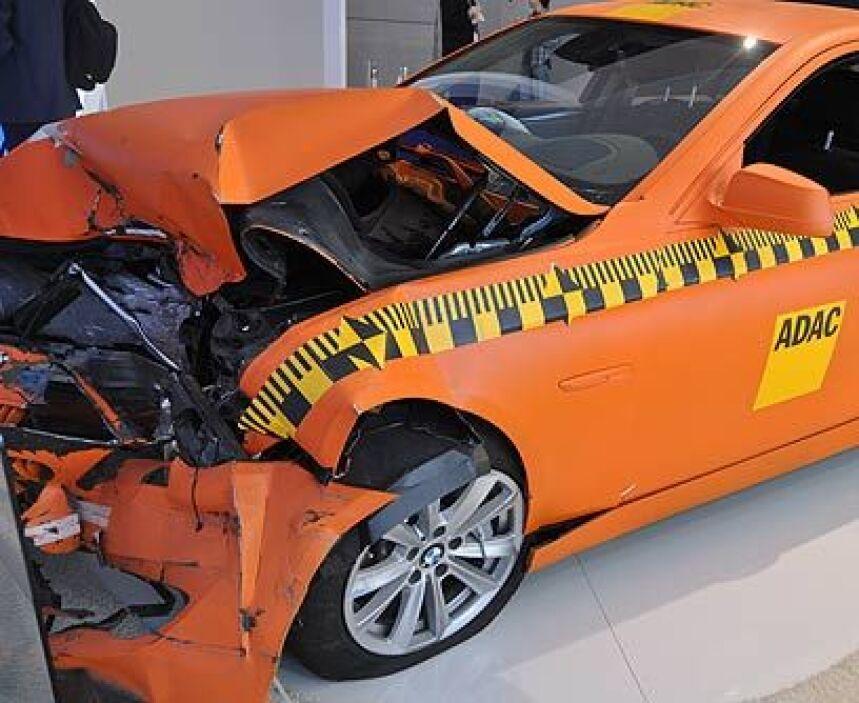 BMW Serie 5Entre los modelos más seguros del 2011, la Administración Nac...