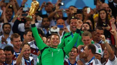 El arquero alemán, parte del equipo campeón del Mundo en Brasil 2014, fu...