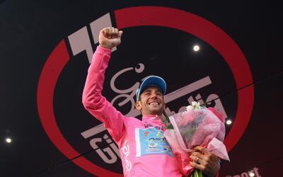 El italiano Vincenzo Nibali es virtual campeón del Giro de Italia.
