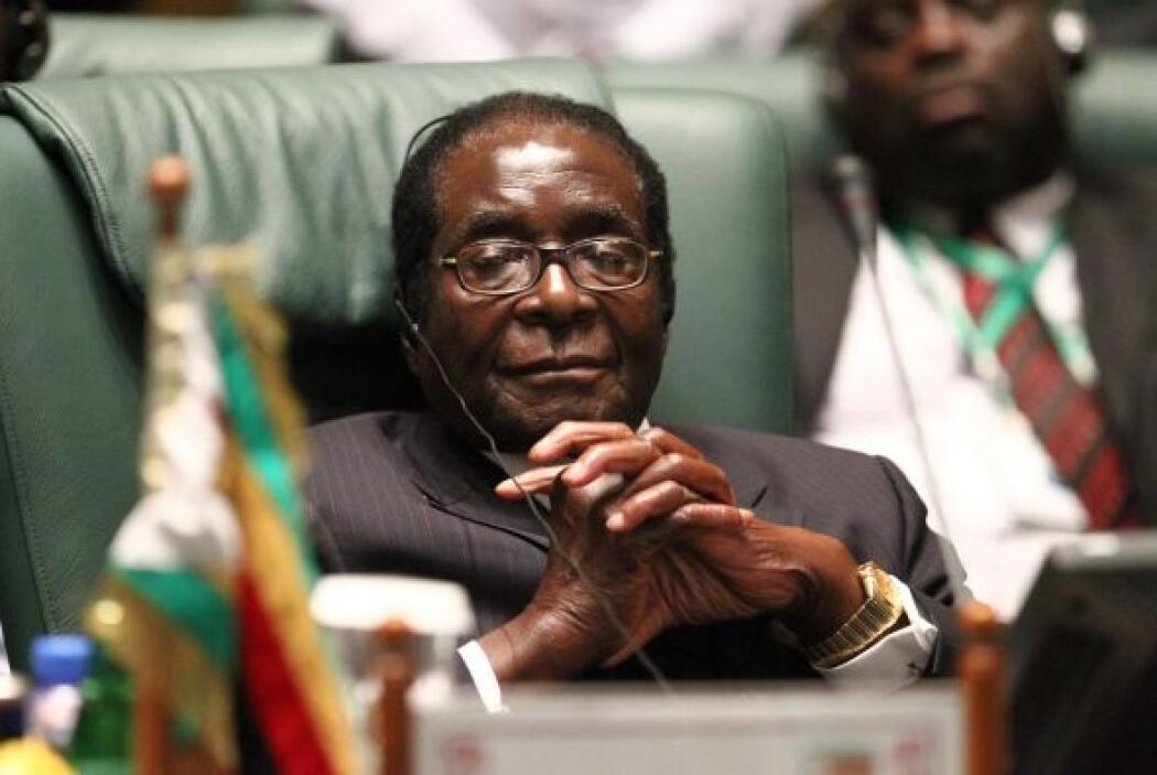 Mugabe. Uno de los peores dictadores del mundo es el presidente de Zimba...