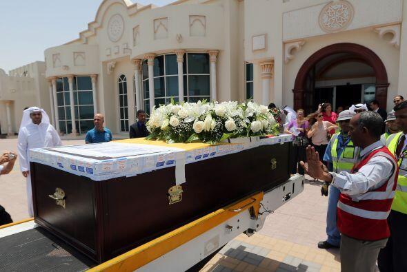 En Ecuador los restos de Benítez serán velados en el campo...