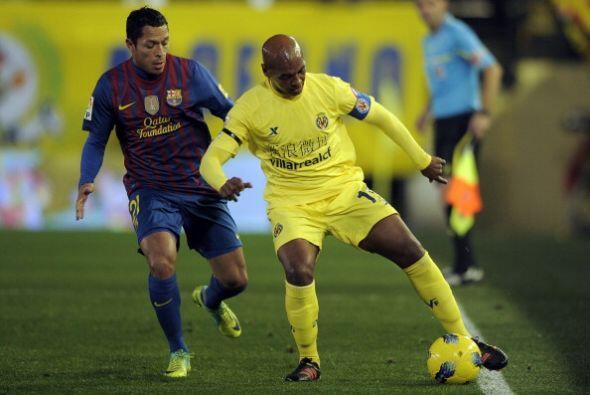 El Villarreal ejerció mucha presión en el medio campo y ahogó la creativ...