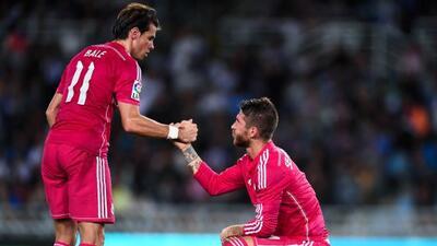 Gareth Bale y Sergio Ramos no podrán jugar contra el Liverpool en UCL.