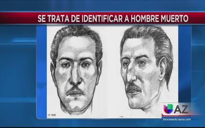 Autoridades piden ayuda para identificar los restos de un hombre encontr...