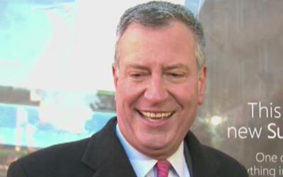 El alcalde de Nueva York, Bill de Blasio, será interrogado por fiscales...