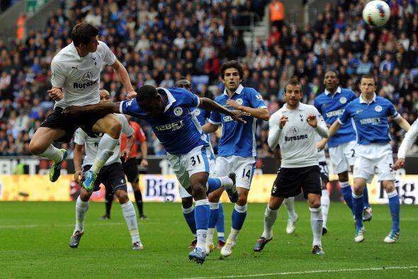 Tottenham enfrentó al Wigan y se llevó un valioso triunfo.