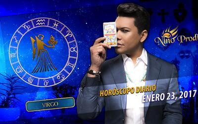 Niño Prodigio – Virgo 23 de enero, 2017