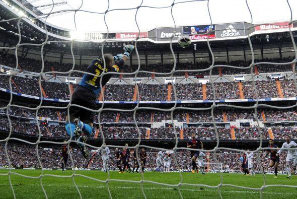 El Barcelona tuvo el balón, pero las mejores oportunidades las tuvo el R...