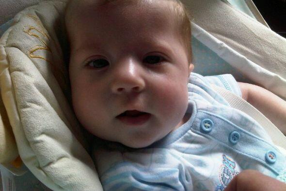Joshua Burdall pasó sus primeros 5 meses de vida en el hospital.