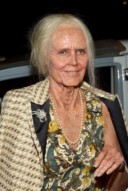 Esta ancianita es nada más y nada menos que la súper model...