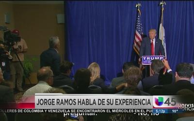 Jorge Ramos habla de episodio con Trump