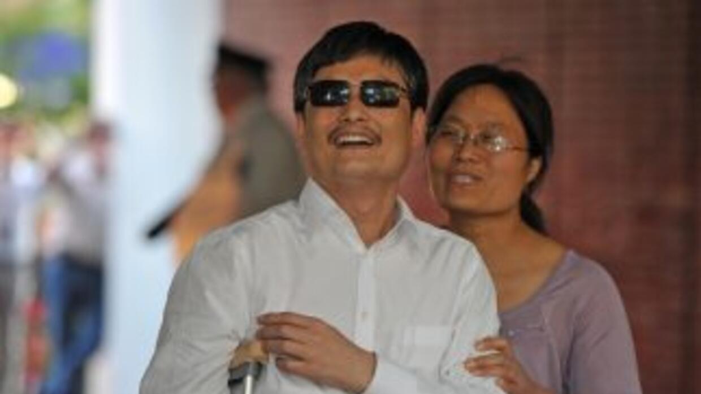 El activista de derechos humanos denunció que las autoridades en China b...