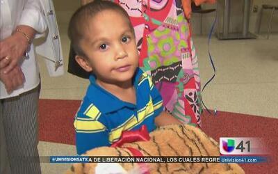 José Gabriel llegó a San Antonio en busca de un milagro