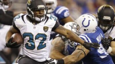 Maurice Jones-Drew podría ir a los Raiders (AP-NFL).