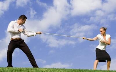 Una de las causas del divorcio: la Guerra de Poder