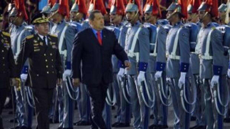 El presidente Hugo Chávez rechazó que el nuevo Ministro de Defensa, Henr...