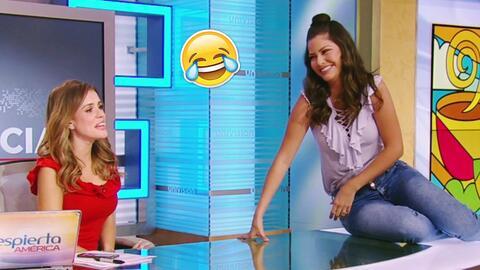 Ana Patricia le enseñó a Carolina Sarassa a contar chistes de frutas com...