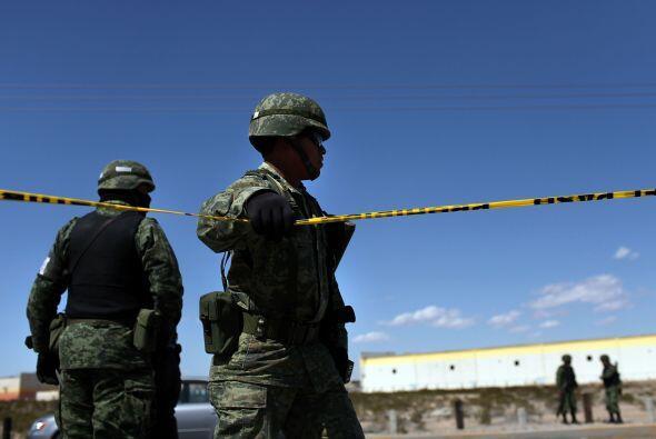 A pesar de ser criticado por tener al ejército en las calles en tareas d...