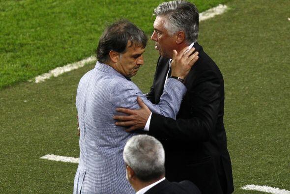 No hubo tiempo para más. Martino le ganó a Ancelotti su primer duelo.