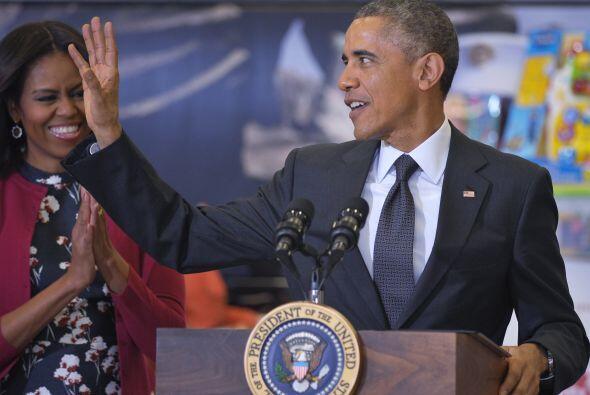 Los Obama hablaron de lo orgullosos que se sienten  de participar en est...