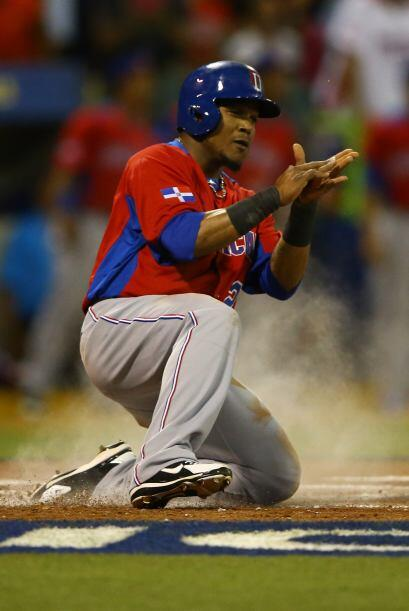 Pero con batazo clave en el sexto inning de Alejandro De Aza, República...