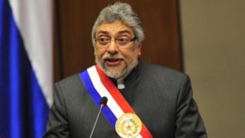 Fernando Lugo en sus épocas de presidente en Paraguay.