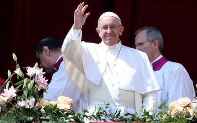 El papa Francisco dedicó gran parte de su mensaje de Pascua a América La...