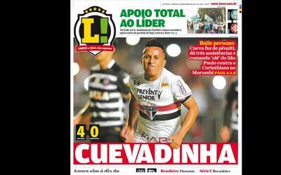 Ha metido goles importantes ante Corinthians y Chapecoense.