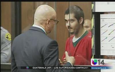Presunto homicida de policía fue a Corte