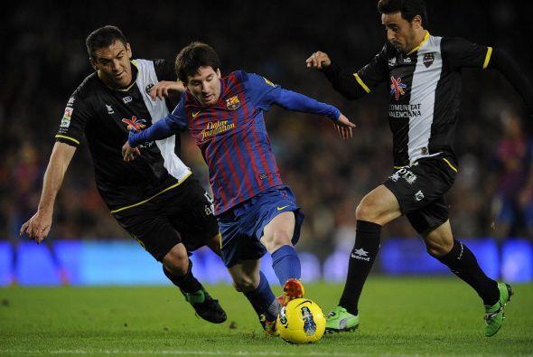 Ya en el segundo tiempo, Messi levantó su nivel y comenzó...