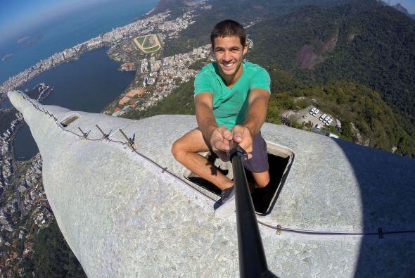 ¡Una selfie extrema se tomó este brasileño!
